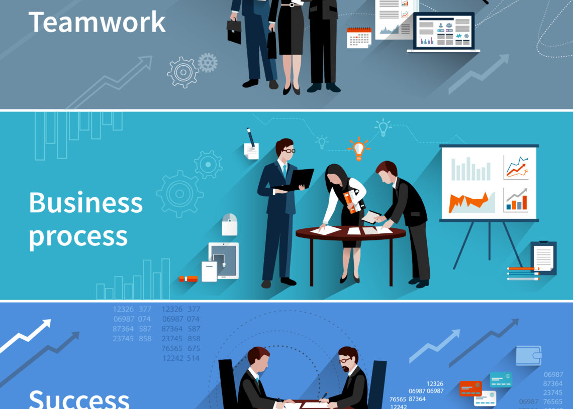 Teamwork with the CRM infographic