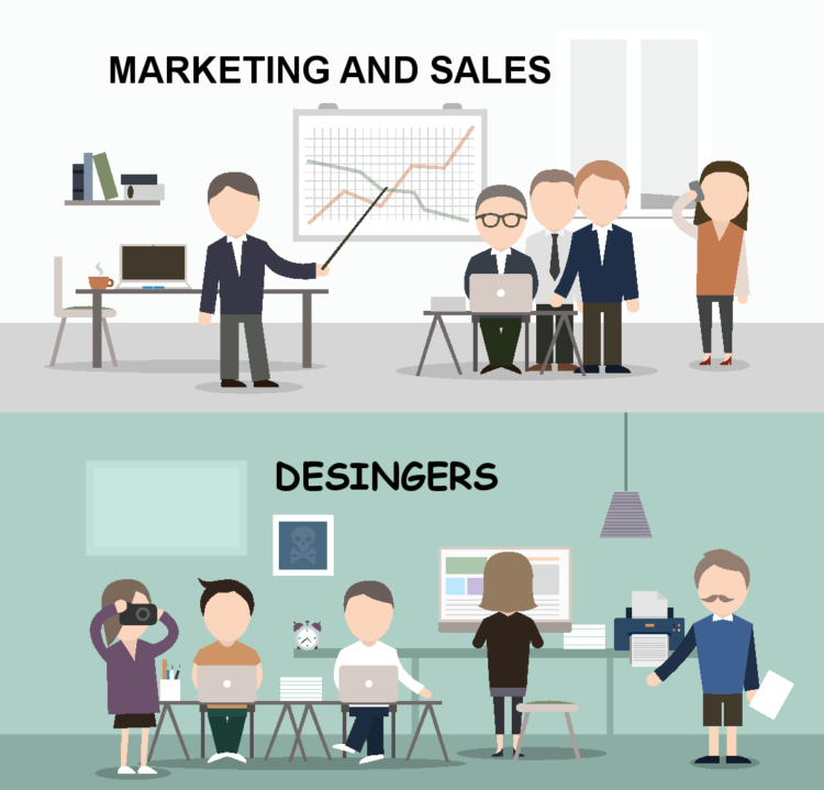 Marketing And Sales Designers Department
