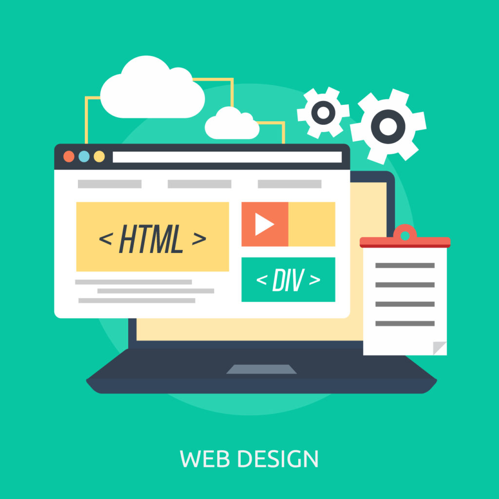 graphic od website design
