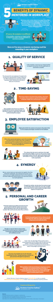 Benefits of Dynamic Mentoring - Infographic